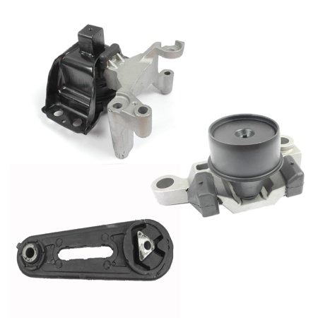 Fits: 2007-2011 Nissan Sentra 2 0L Engine Motor & Trans Mount Set 3PCS for  Auto CVT Transmission 9582, 9228, A4346