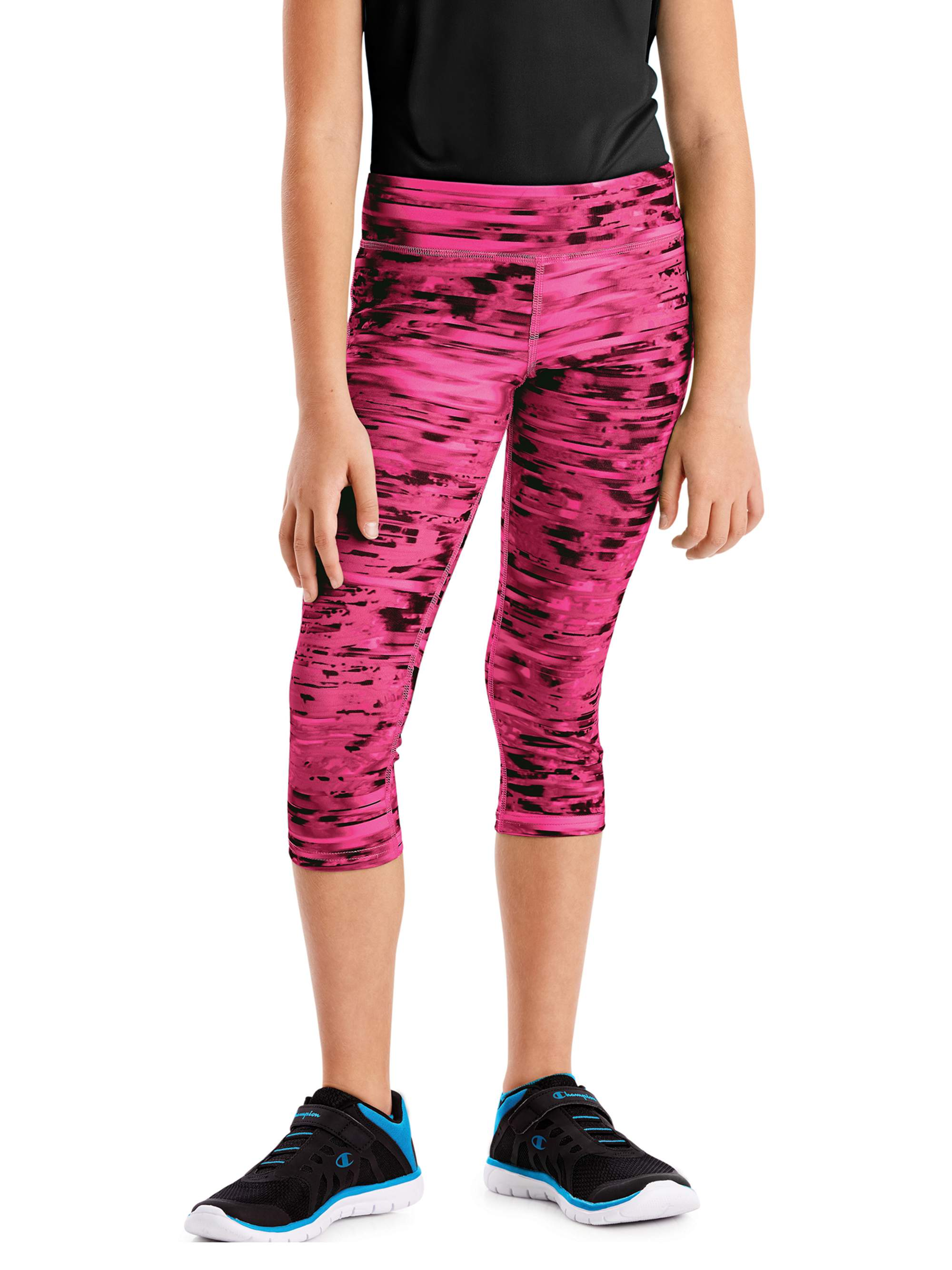 Girls' Performance Capri Leggings