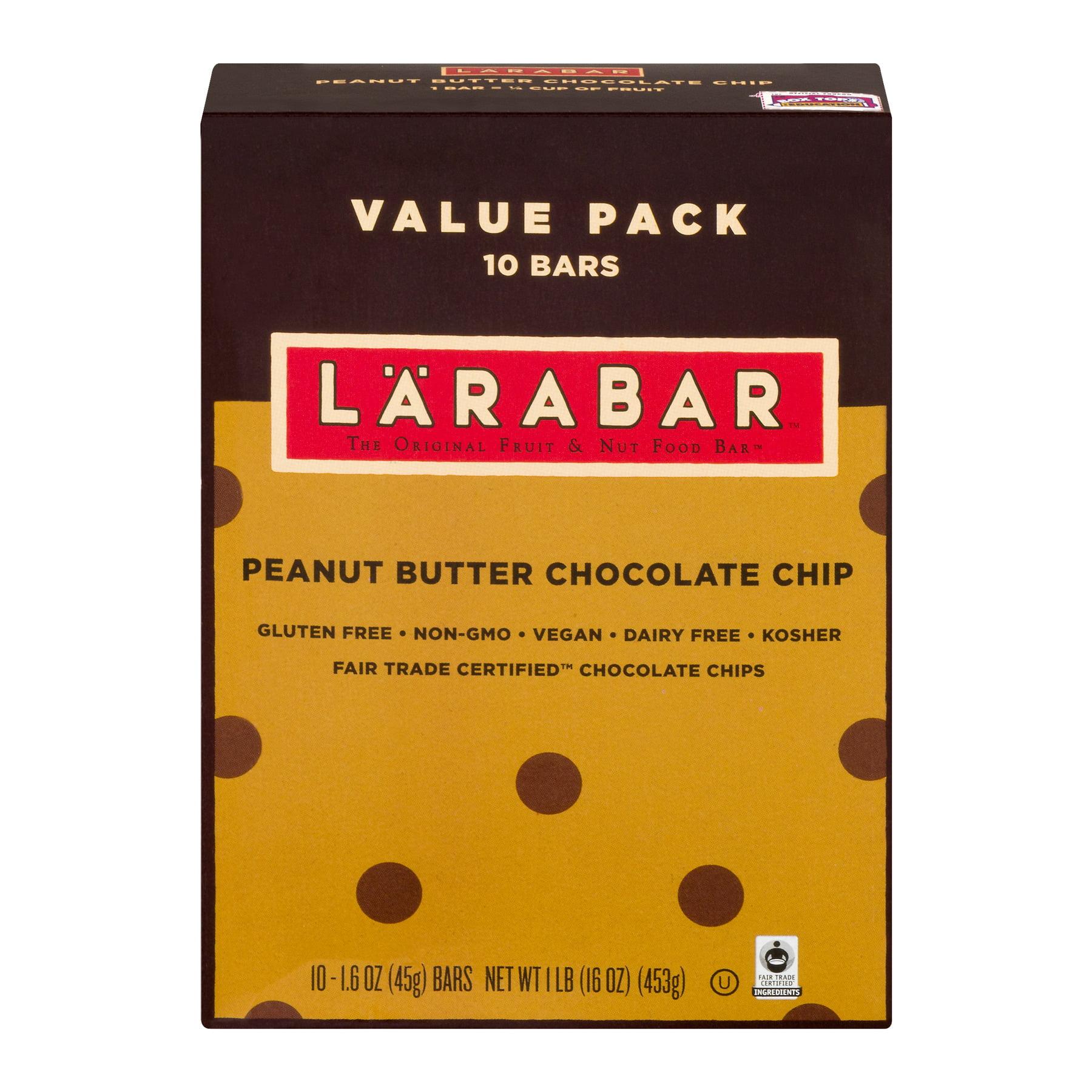 Lãrabar® Peanut Butter Chocolate Chip Fruit & Nut Bars 10 ct Box