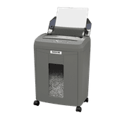 Boxis® AutoShred® 80-Sheet Auto Feed Microcut Paper Shredder - Includes a 12 Pack of ShredCare® Lubricant Sheets