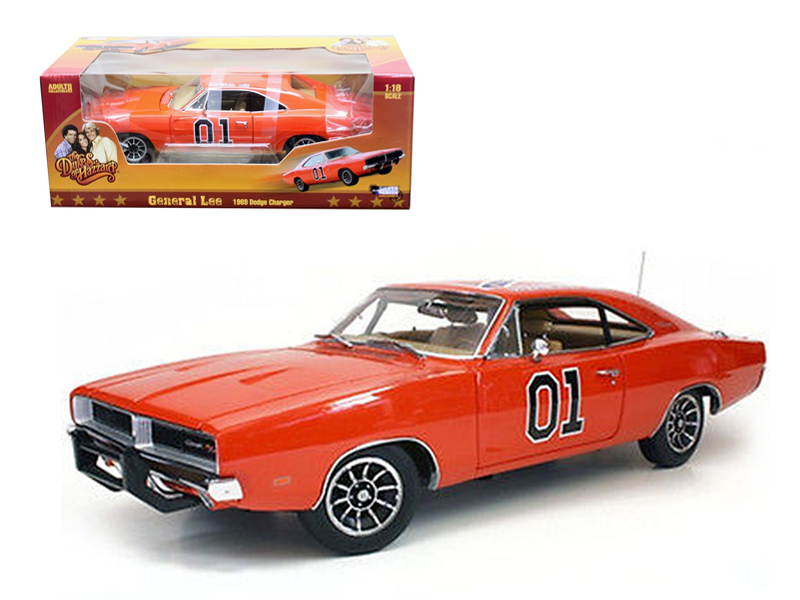 1969 Dodge Charger General Lee Birthday Dukes Of Hazzard Auto World 1//18 AWSS110