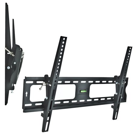 Universal Mounts Flush Tilt Dual Hook (1.9″ from wall) Flat Screen TV Wall Mount Bracket for 30-60 inch