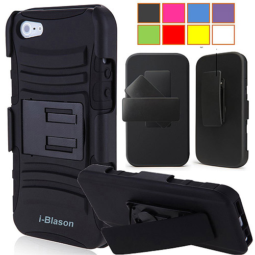 i-Blason Apple iPhone 5C Holster Case with Kick Stand Belt Clip