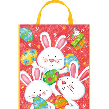 2bcd454e7249 Plastic Happy Easter Bunny Treat Bag
