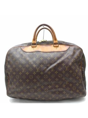 5825e6bae2f Product Image Duffle Alize Monogram 2 Poches Luggage 869258 Brown Coated  Canvas Weekend Travel Bag. Louis Vuitton