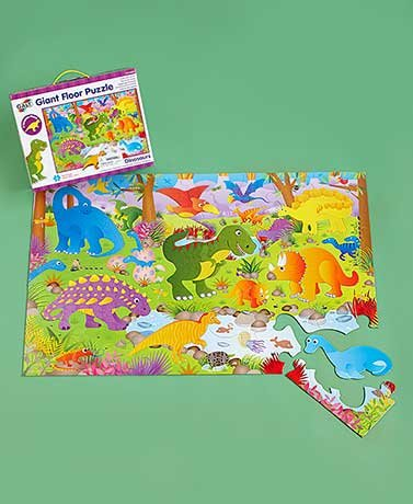 30-Pc. Jumbo Floor Puzzles (Dinosaur) by