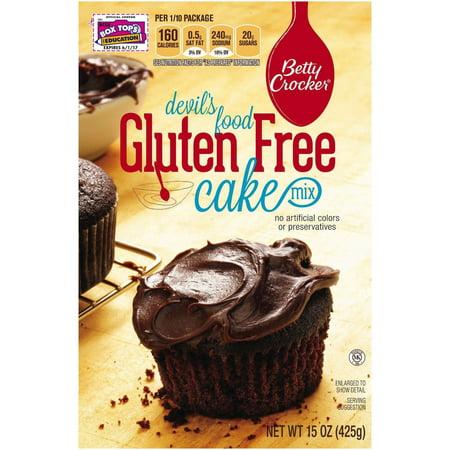 Betty Crocker Gluten Free Cake Mix - Devil's Food, 15 OZ (Pack of (Betty Crocker Devils Food Cake Recipe From Scratch)