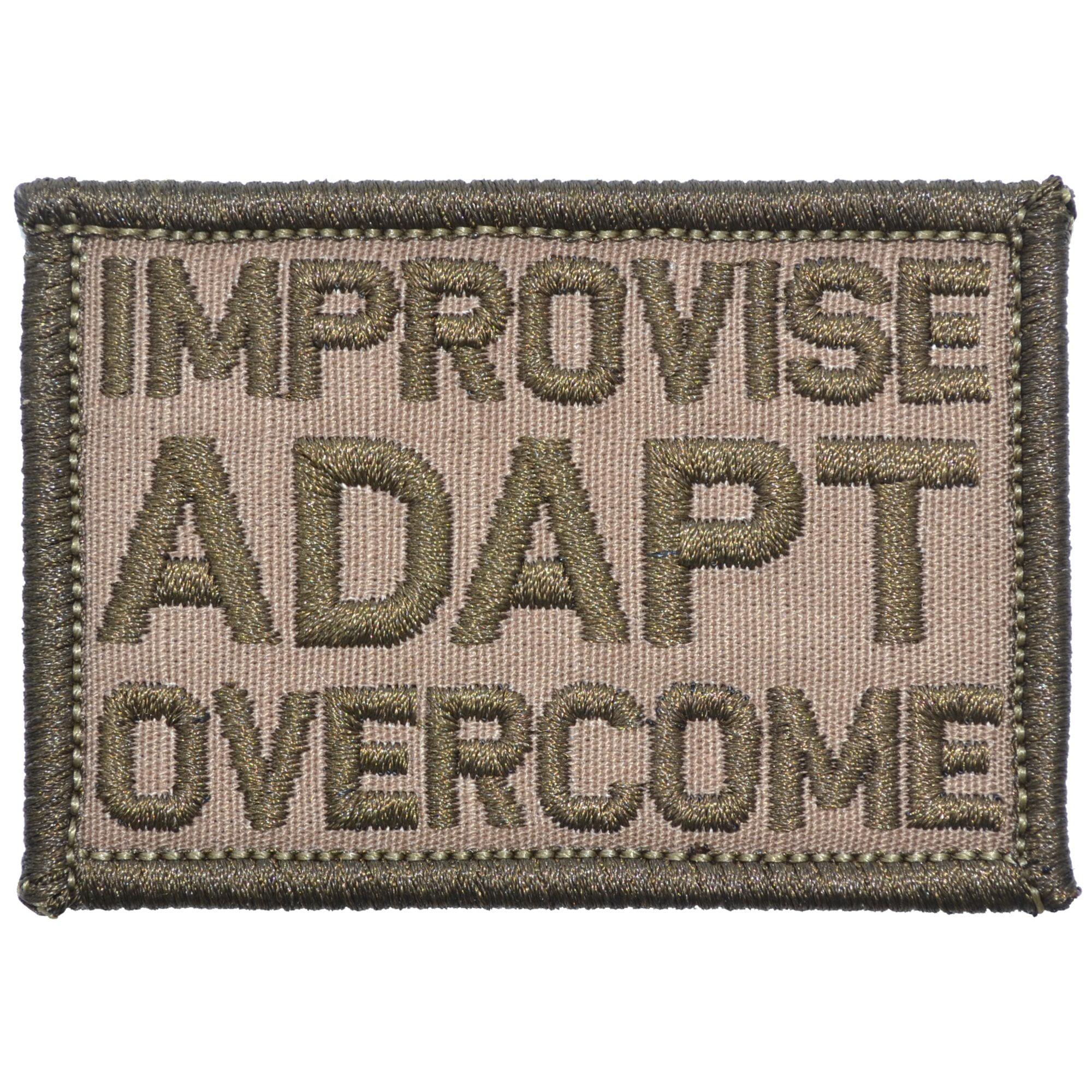 Improvise Adapt Overcome - 2x3 Patch