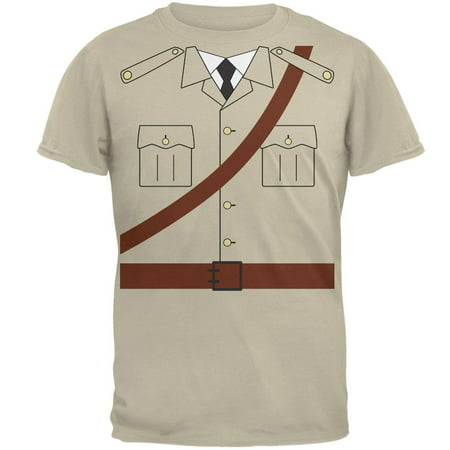 Halloween Safari Explorer Dr. Livingstone Costume Mens T Shirt - Halloween River Safari
