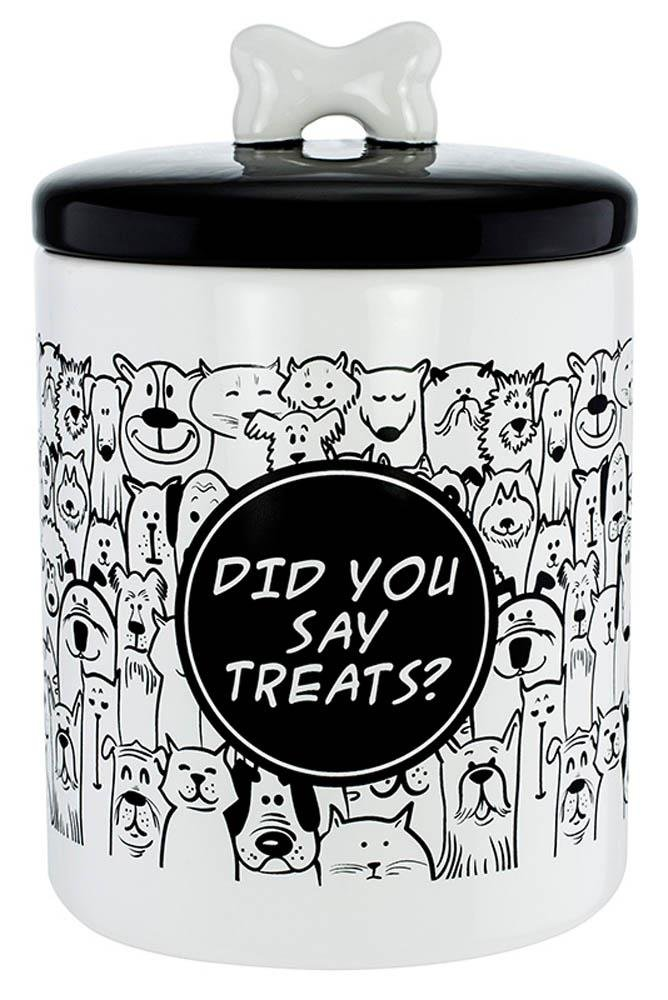 Cute Pet Food Container Finelife Small Airtight Canister