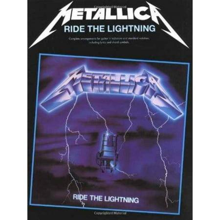 Metallica: Ride the Lightning: Guitar TAB Edition (Paperback)