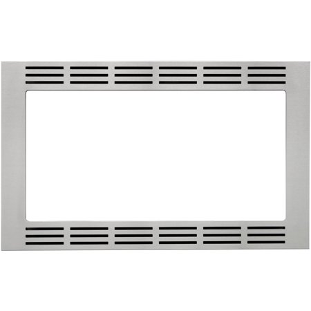Panasonic 30 In. Wide Trim Kit for Panasonic's 1.6 Cu. Ft. Microwave Ovens - Stainless Steel Panasonic's NN-TK732SS 30 In. Wide Trim Kit, in stainless steel, is designed for select Panasonic 1.6 cu. ft. microwave ovens. This built-in trim kit allows you to neatly and securely position select Panasonic microwave ovens into a cabinet or wall space in your kitchen. Kit includes all the necessary assembly pieces and hardware to give your Panasonic microwave oven a custom-finished look.