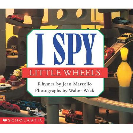 I Spy Little Wheels (Board Book)