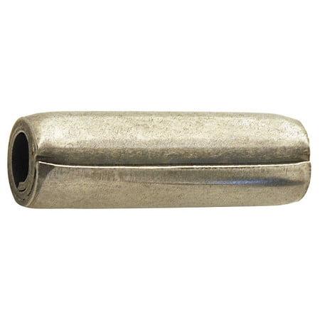 Spring Pin,Coil,7/32x2 L,Pk25 ZORO SELECT 5DY68
