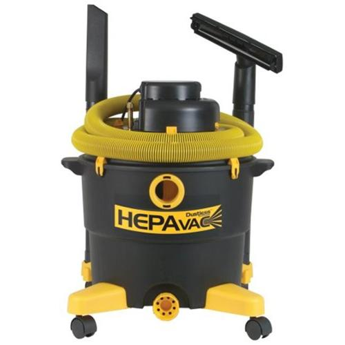 Dustless Technologies 16007 HEPA - 240V 16 Gal Wet-Dry Vacuum