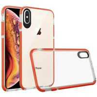 For Apple iPhone XS Max Case, by Insten Ultra Thin TPU Rubber Candy Skin Transparent Case Cover For Apple iPhone XS Max