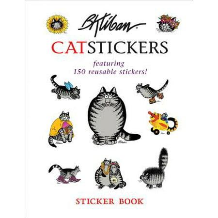 Kliban Cat Halloween (B. Kliban Cat Stickers Sticker)
