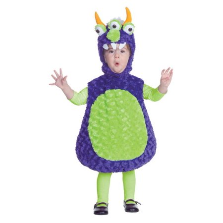 // Monster Toddler 3 Eyed Costume// - Monsters Costume
