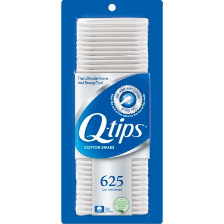 Wht Leg Tip (Q-tips Cotton Swabs 625 ct)