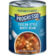 Progresso Vegetable Classics Tuscan-Style White Bean Soup, 18.5 oz
