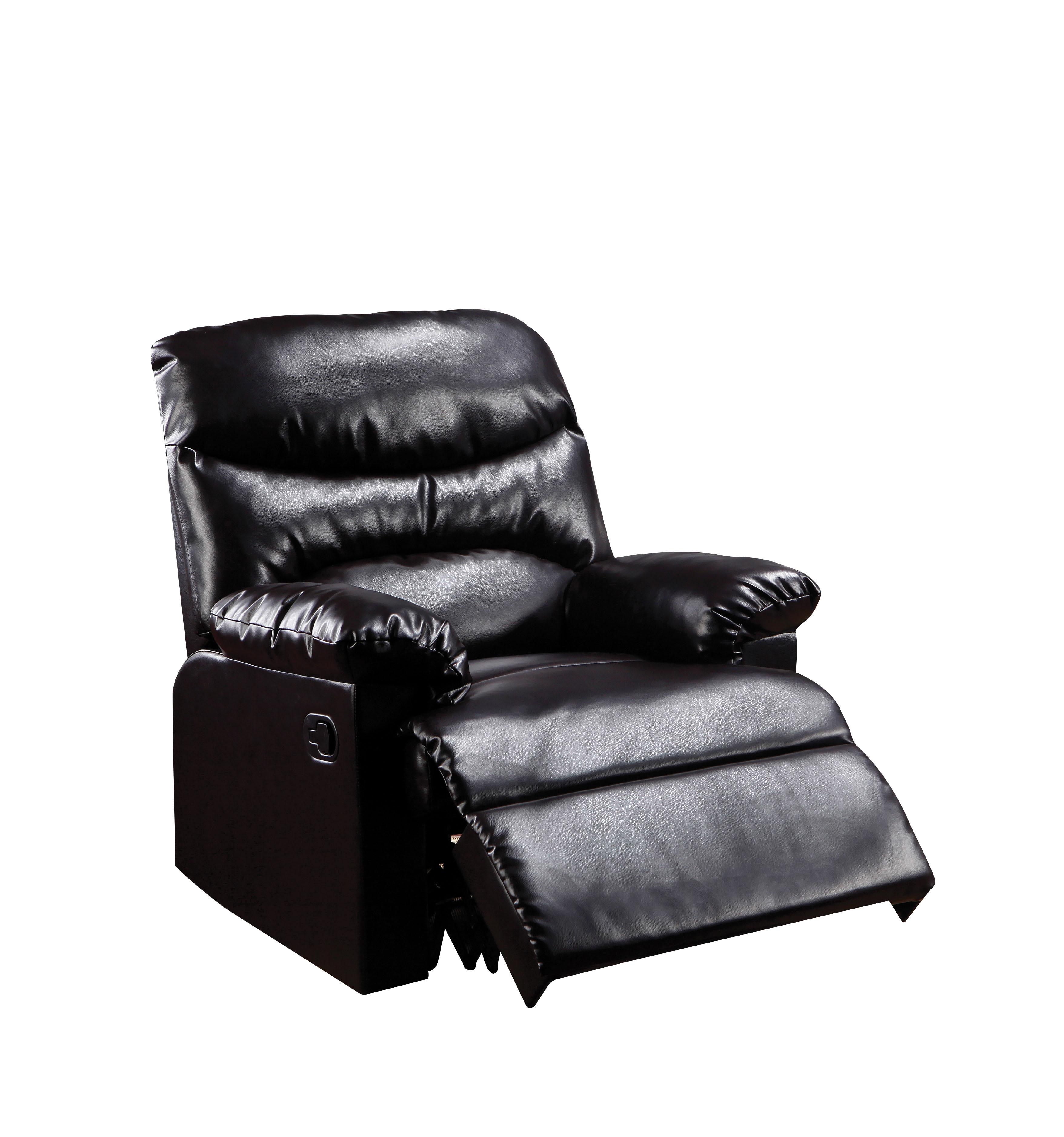 Acme Furniture Arcadia Recliner in Espresso Bonded Leather