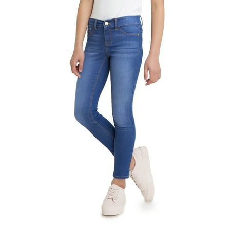 Jordache Girls Super Skinny Power Stretch Jeans, Sizes 5-18