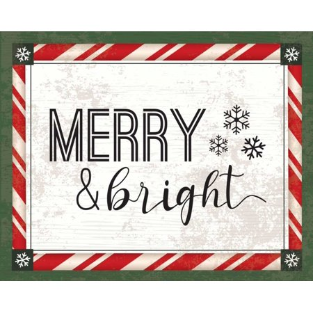 Words Christmas I Poster Print by ND Art and Design