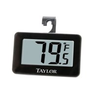 Digital Refrigerator/Freezer Thermometer,Walmartpact and accurate, this refrigerator/freezer thermometer provides crucial temperature readings for food safety.., By Taylor Precision Products