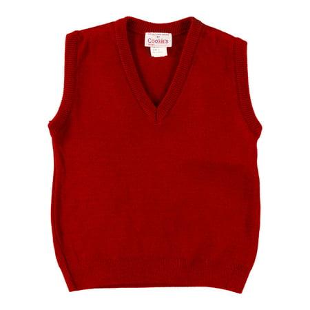 Cookie's Brand Boys' V-Neck Sweater Vest