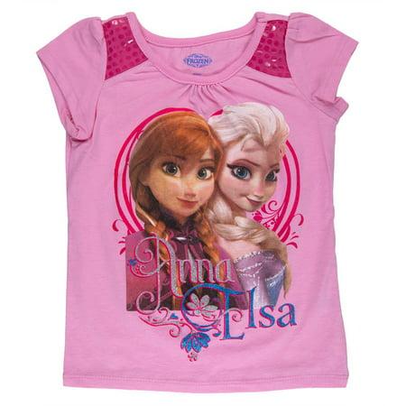 Frozen - Anna & Elsa Sequin Toddler Sequin Shoulder