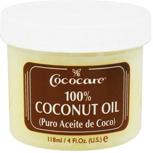 Cococare Coconut Oil,  4 oz (Pack of 6)