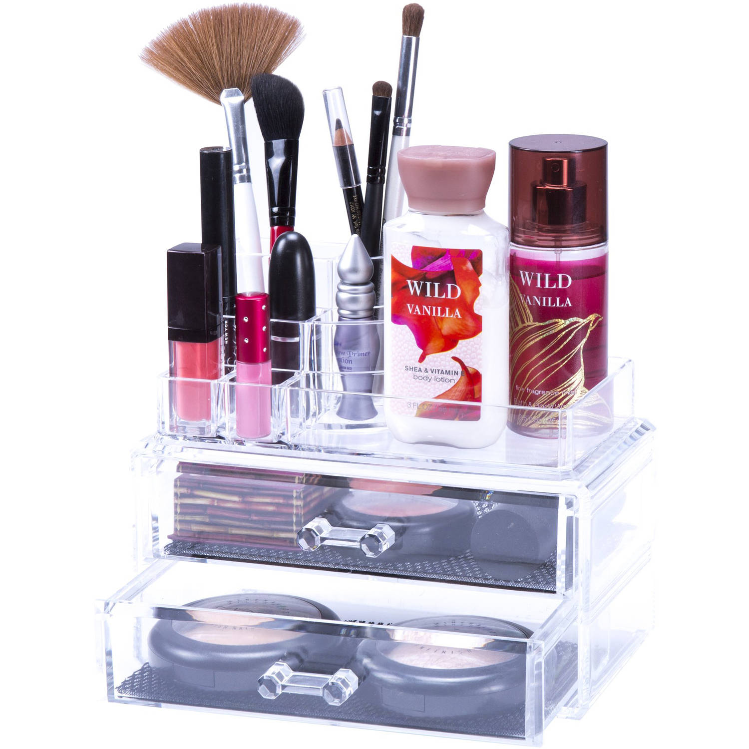 Lavish Home Jewelry and Cosmetic Organizer 2-Piece Set