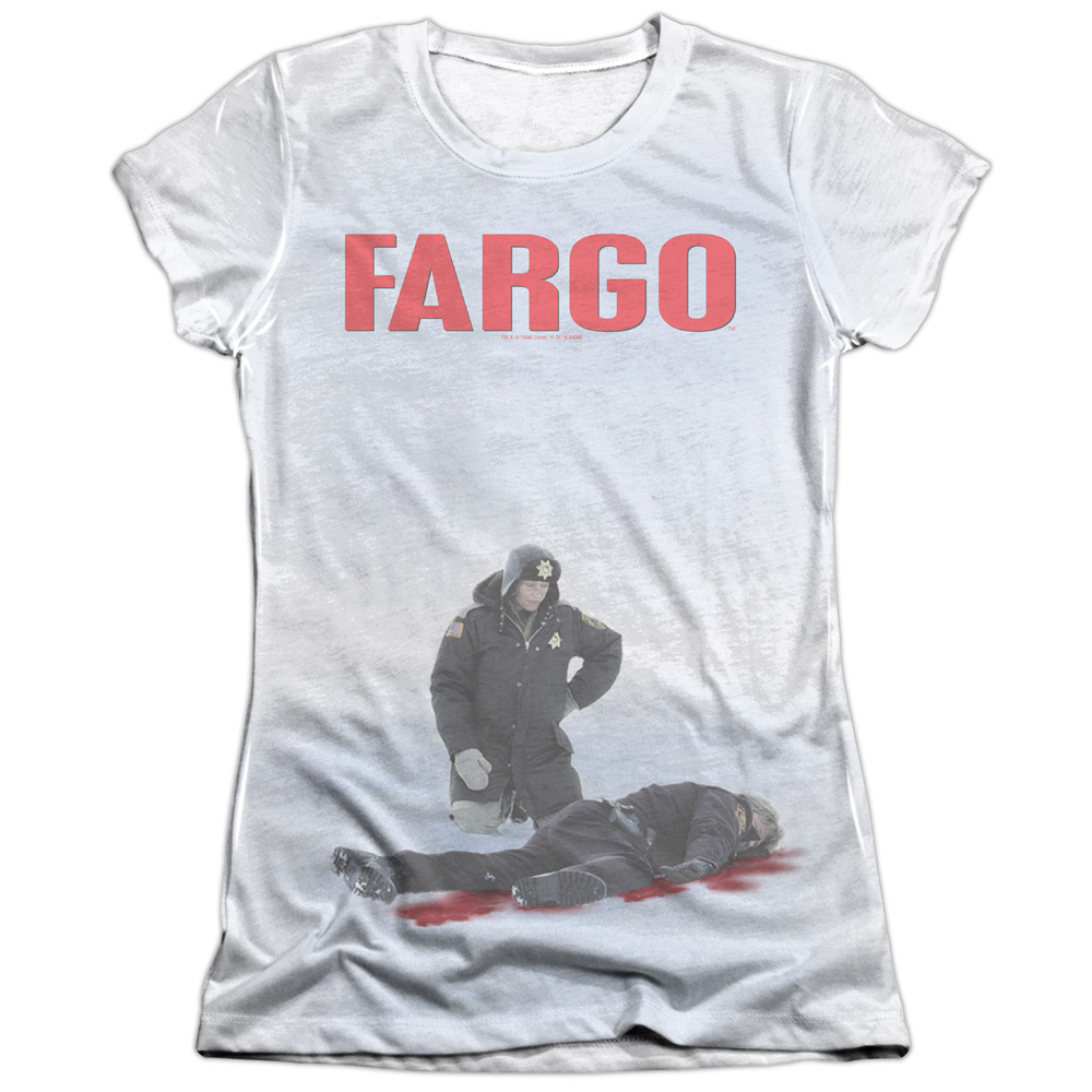 Fargo Poster Juniors Sublimation Shirt