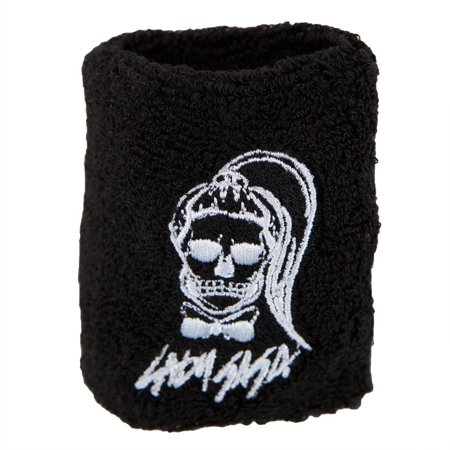Official Sweatband / Wristband, Officially Licensed Merchandise By Lady Gaga From USA](Lady Gaga Lightning Bolt Makeup)