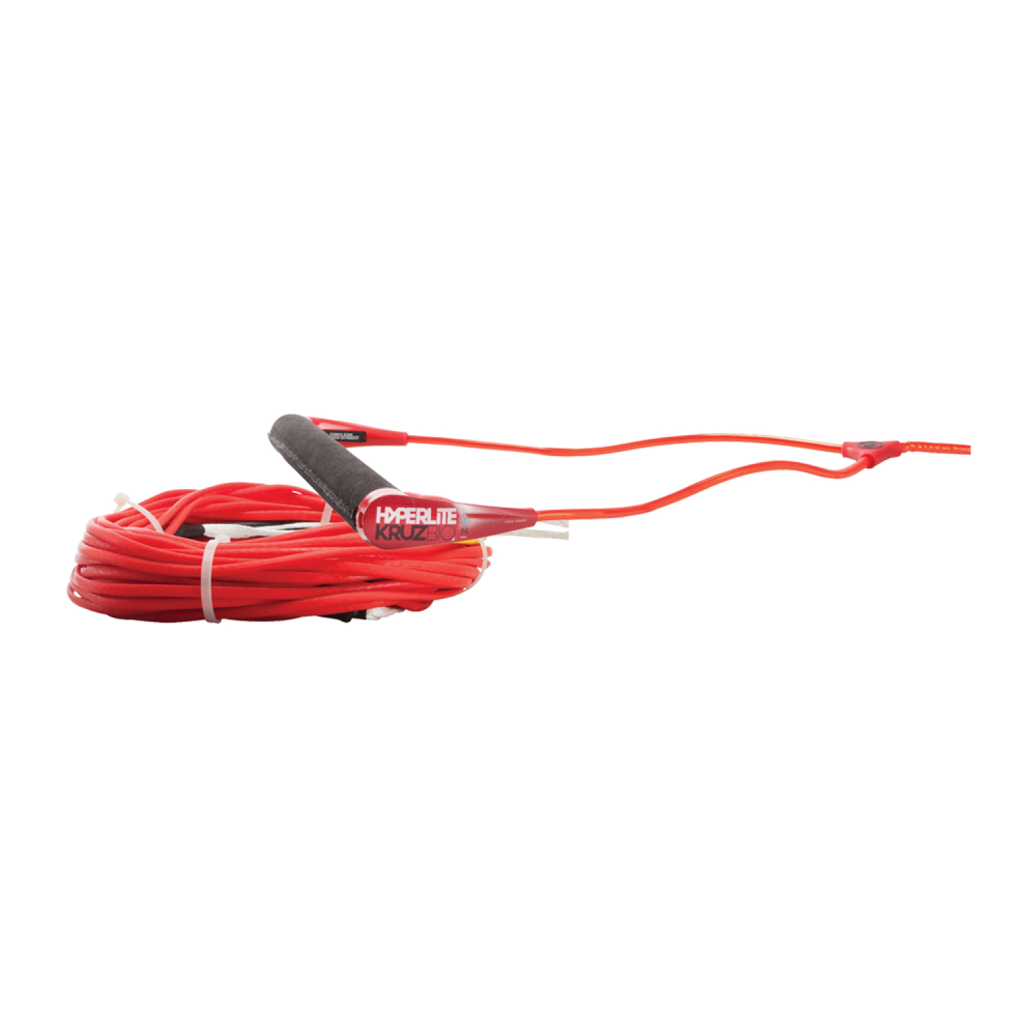 Hyperlite 2018 Kruz w  Floating Silicone Flat Line Wakeboard Rope & Handle Combo by Hyperlite
