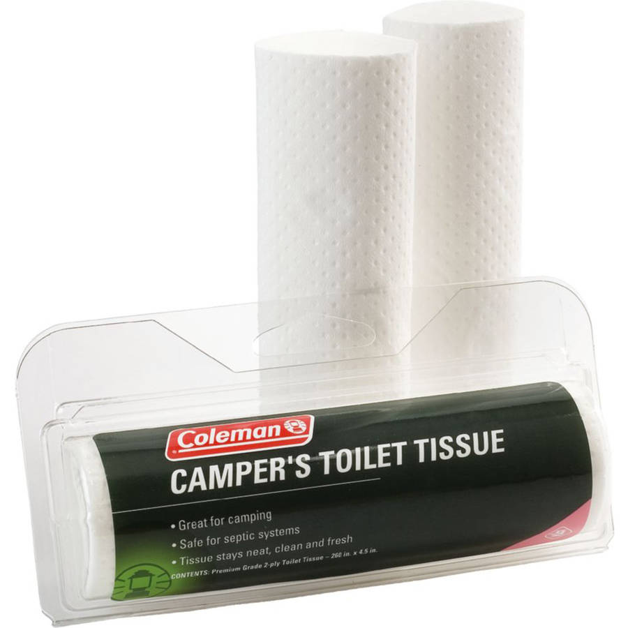 Click here to buy Coleman Biodegradable Toilet Paper (3-Pack) by Overstock.