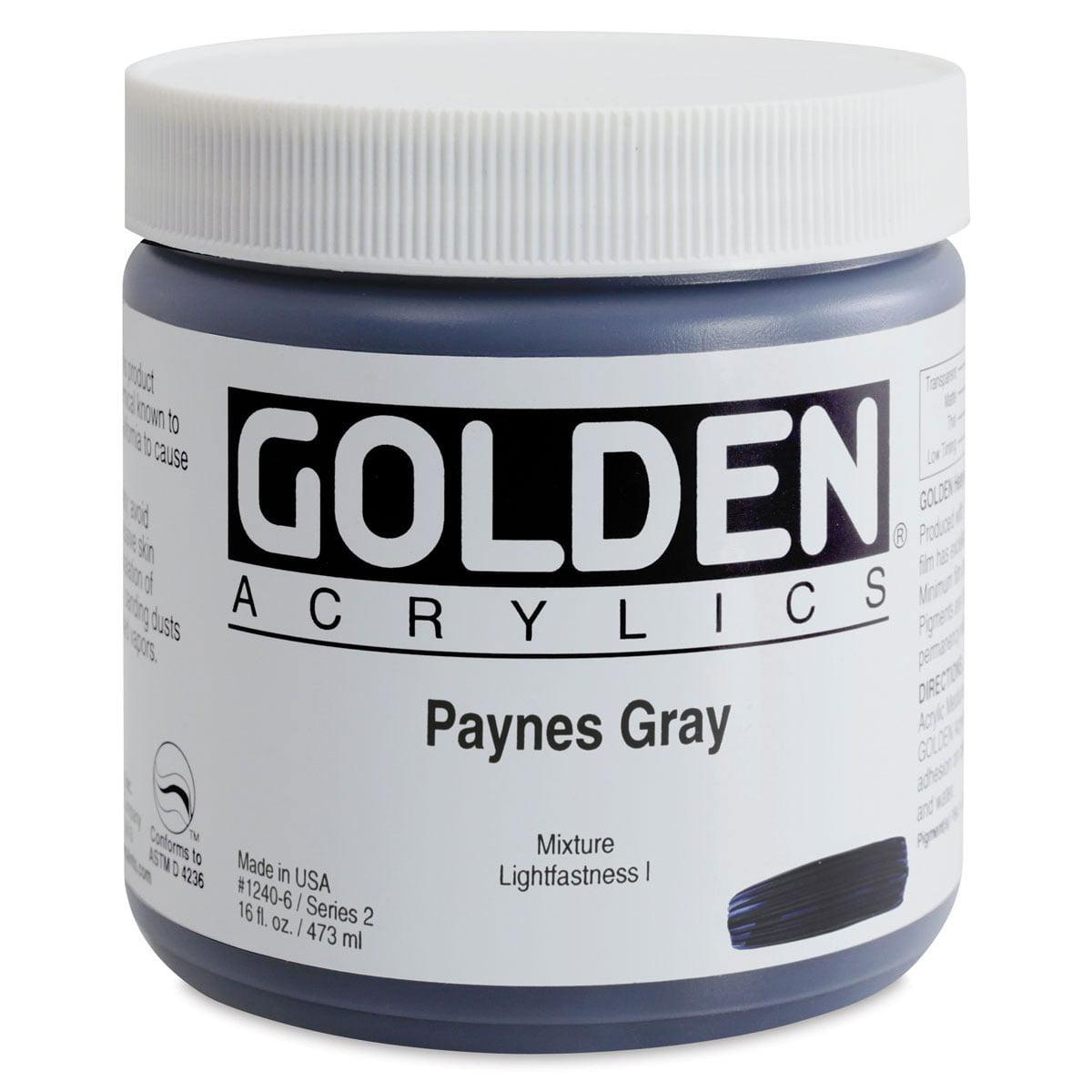 Golden Artist Colors 16 Oz Heavy Body Acrylic Color Paints