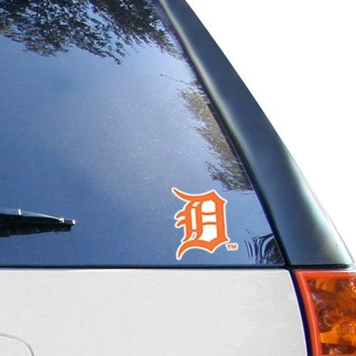 "WinCraft Detroit Tigers 4"" x 4"" Color Perfect Cut Decal - Orange - No Size"