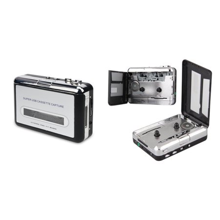 2-In-1 Cassette Player + Cassette Tape To USB Converter MP3 WAVE Recorder ()
