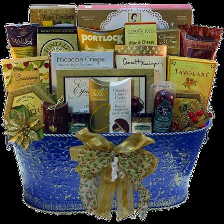 (Resounding Joy Gift Basket (Blue))