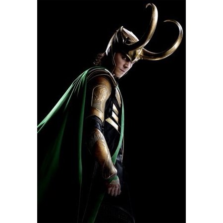 Loki Poster 11inx17in Mini Poster Wall Art in Mail/storage/gift