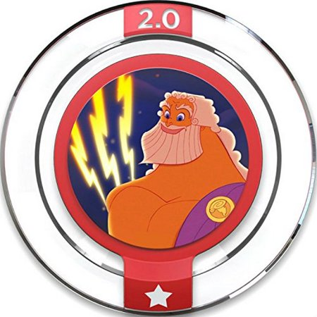 disney infinity 2.0 disney originals power disc - zeus'