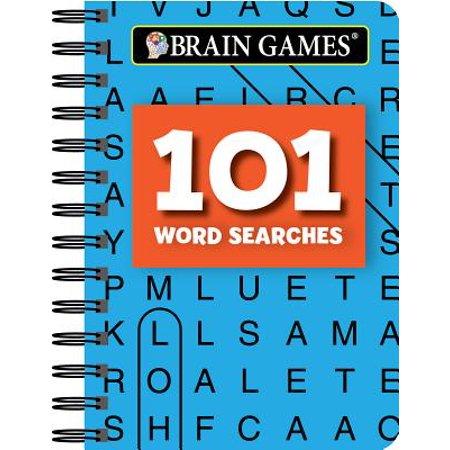 Mini Brain Games 101 Word Searches (Halloween 101 Games)