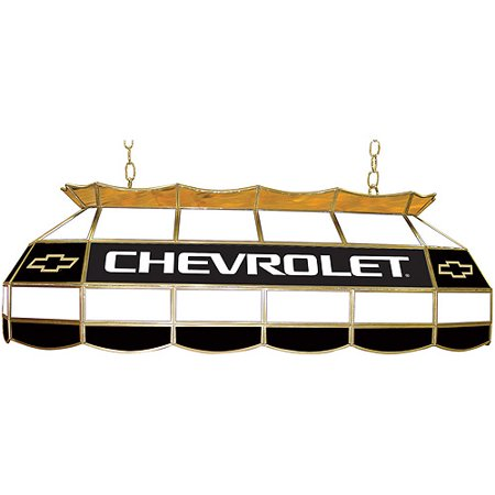 "Trademark Global Chevy Bow Tie 40"" Stained Glass Billiard Table Light Fixture"