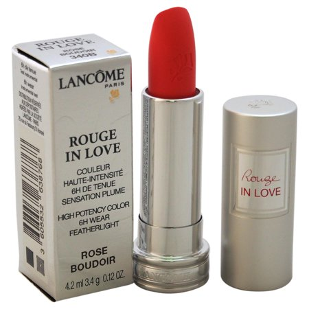 Lancome Rouge In Love High Potency Color Lipstick - # 340B Rose Boudoir 0.12 oz (Lancome Sheer Lipstick)