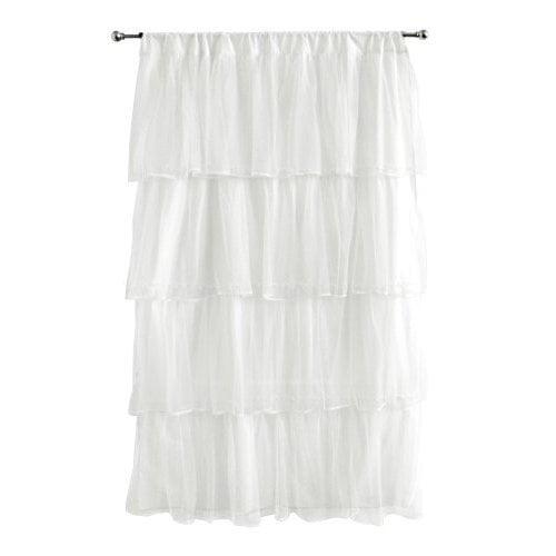 Tadpoles Multi-Layer Tulle Curtain Panel