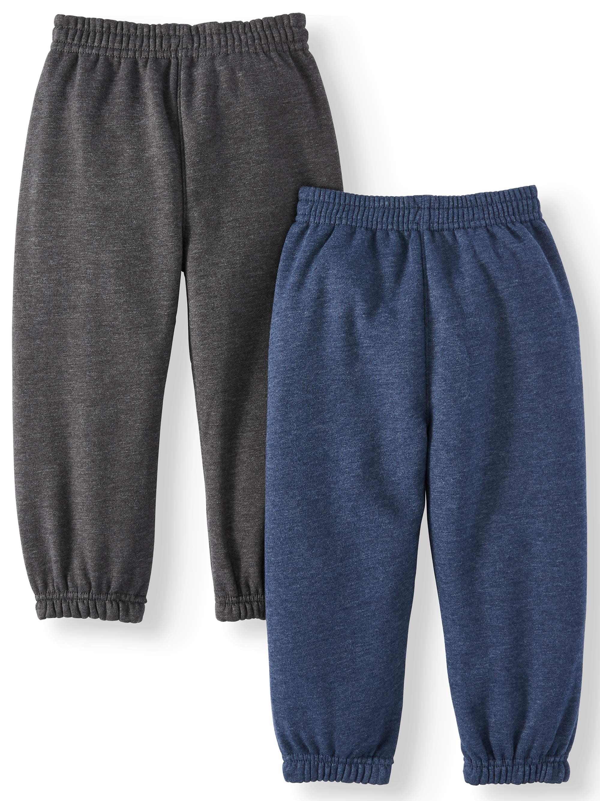 New Garanimals Pants Sz 4T Boys Blue White Stripe Elastic Waist  Cuff  School