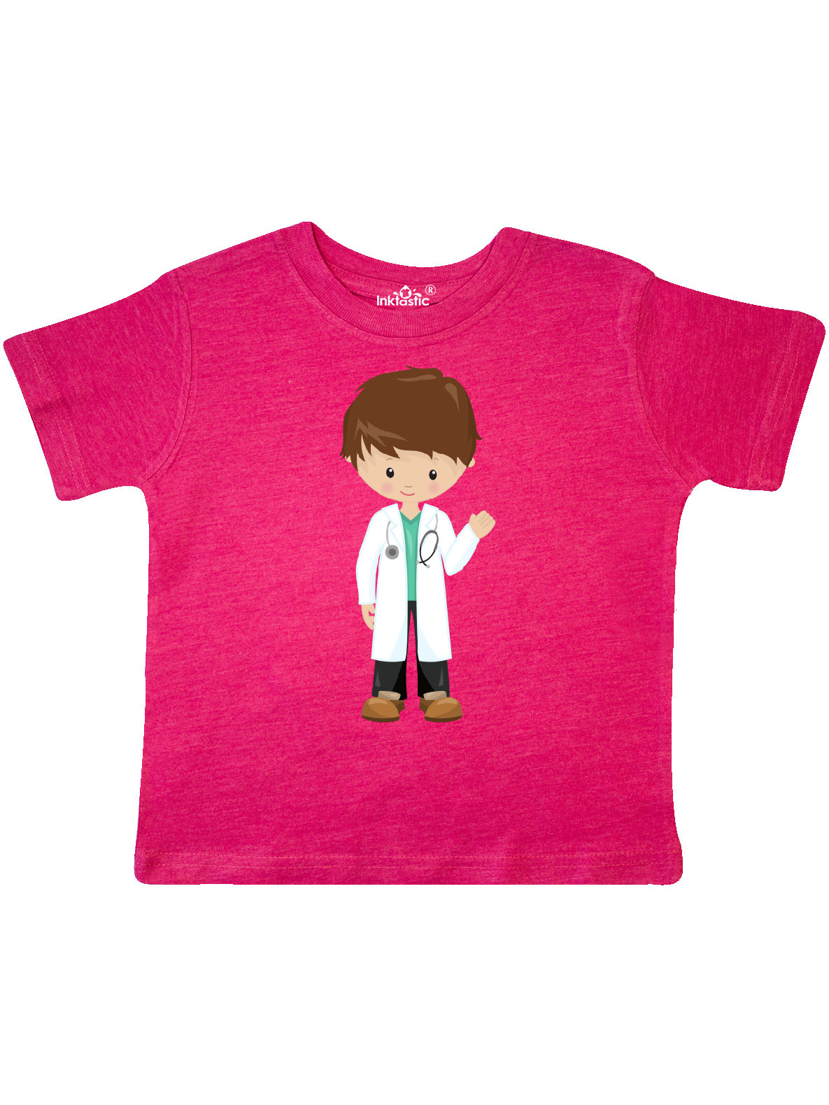 inktastic Doctors Kid Physician Stethoscope Toddler T-Shirt