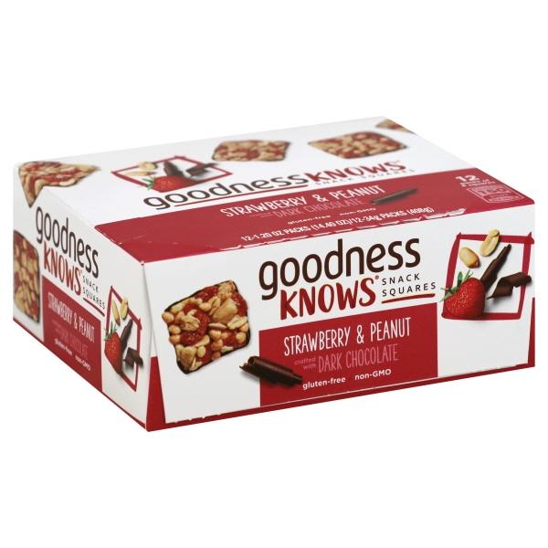 Generic Goodnessknows Strawberry, Peanut And Dar