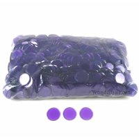 Purple Plastic Counting Sorting Chips 19MM (3/4in) Pack of 1000 Koplow Games